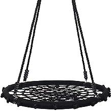 Yorbay® nestschommel bord schommel voor kinderen (Zwart, 100 cm)