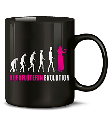 QUERFLÖTERIN EVOLUTION 4589(Schwarz-Pink)