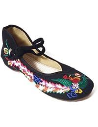 Kangzy - Ballet mujer , color multicolor, talla 39 EU