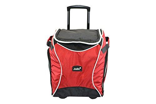 Joebo, borsa termica isolante a trolley, xl, 40litri, ideale per eventi sportivi, picnic