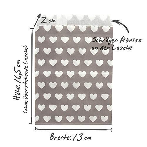 Papiertüten Design Mix | 100 Stück - 6