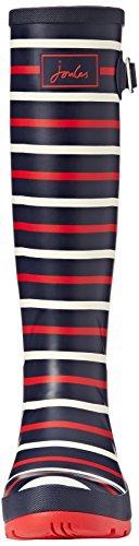 Tom Joule Wellyprint, Bottes de Pluie  femme Blau (navy London Stripe)