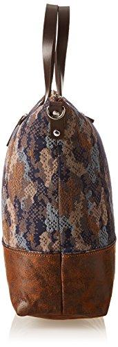 Paquetage  Cj, Damen Tote-Tasche Braun - Marron (074/Camouflage)