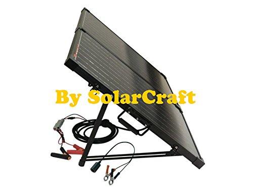 Set Solar 2x 50Watt polycristallins Photovoltaik Camping Garten Wohnwagen