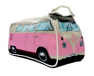 VW Bulli Campervan Washbag - Rosa Fucsia