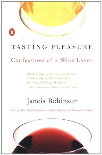 Tasting Pleasure: Confessions