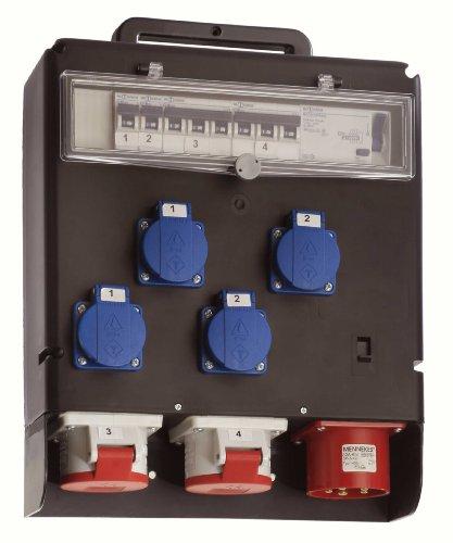 60516 Stromverteiler 400V FIXO III, IP44 Gewerbe, Baustelle