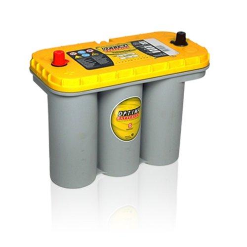 OPTIMA® YELLOW TOP® BATTERIE 12V 75 AH OPTIMA YELLOWTOP S 5.5 - 151.01.63 - Ideal für den sensonalen Einsatz- geeignet für Tuning-Fahrzeuge, Lkws, Geländewagen / Offroader aber auch Landmaschinen, Baumaschinen, Camping- / Caravanmobile, Einsatzfahrzeuge sowie Generatoren. - Absolut Wartungsfrei - gesetzlichem Batteriepfand (EUR7,50)! (Auto Top Batterie Yellow)