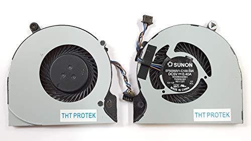 Kompatibel für HP EliteBook Folio 9470m Lüfter Kühler Fan Cooler Ultrabook
