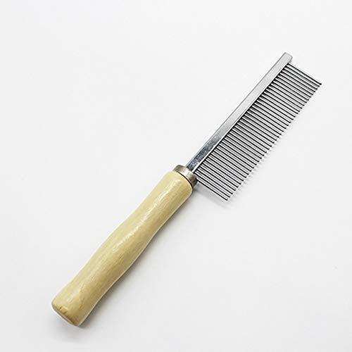 Celerhuak strumento di rastrellatura della spazzola per toelettatura del pettine per deshedding del pelo del cane dell'animale domestico