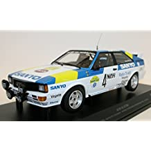 Minichamps 155821105 Quattro Audio Sport Sweden Blomqvist/Cederberg Winners INT. Swiss Rally 1982