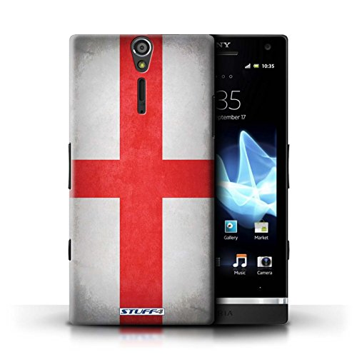 Kobalt® Imprimé Etui / Coque pour Sony Xperia S/LT26i / Jamaïque/jamaïcain conception / Série Drapeau Angleterre/anglais