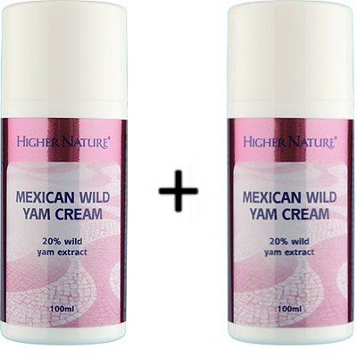 (2er BUNDLE) | Higher Nature 100ml Wild Yam Cream | 100ml - Higher Nature