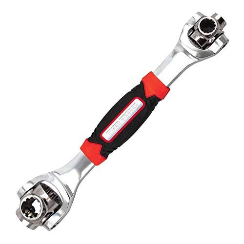 Aiming Tiger Schlüssel 48 in 1 Werkzeugen Sockel Kompatibel mit Spline Schrauben Torx 360 Grad 6-Punkt Universial Möbel Auto-Reparatur-Werkzeug -