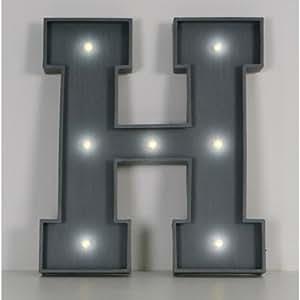 Lettre Lumineuse H 46cm x 40cm
