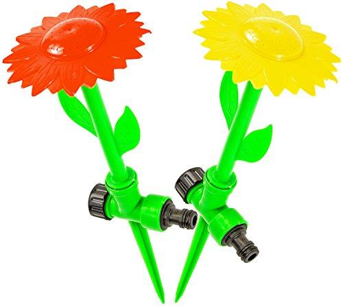 Nick and Ben Verrückte Sprinkler Blume Rasen-Sprenger Wasser-Sprenger Garten-Spielzeug Wasser-Spritze Wasser-Pistole