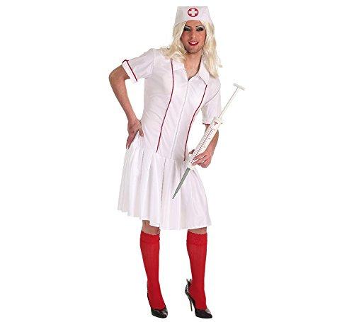 Zzcostumes Lustiges Krankenschwester-Kostüm für Einen
