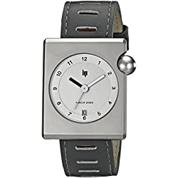 Lip Createur Roger Tallon Men's Watch 1892322 With Grey Leather Strap