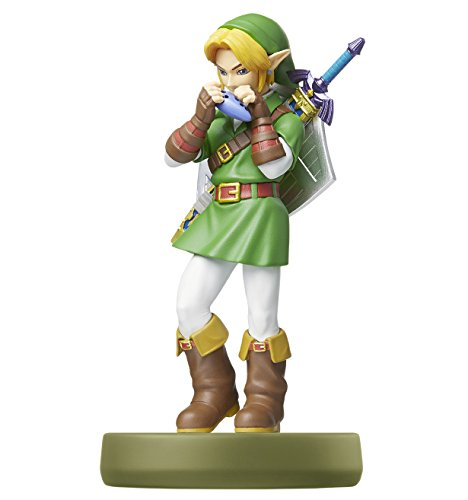Nintendo   Figura amiibo Link Ocarina Of Time  Colección Zelda