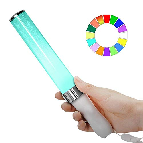 ick Multi-Farbwechsel Schaum Baton Strobe Für Party Festivals, Glow In The Dark Party Supplies ()