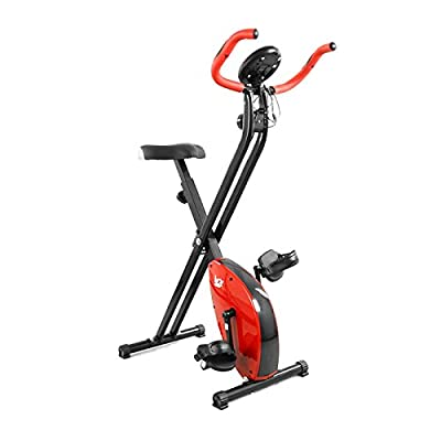 Folding Magnetic Exercise Bike X-Bike Fitness Cardio Workout Weight Loss Machine from We R Sports
