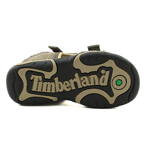 Timberland Tisbury 2 Strapcanteen Naturebuck, Sandales Bout Ouvert Mixte Enfant Beige
