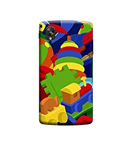 Ebby Premium Printed 3D Designer Back Case Cover For LG Nexus 5 (Premium Designer Cae)