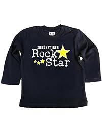 Dirty Fingers Zukünftiger Rock Star, Jungen T-Shirt langärmlig
