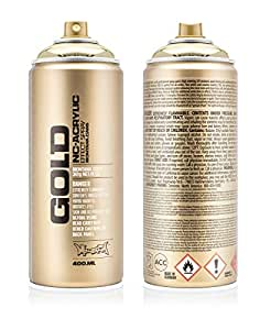Montana Gold M3000Spray 400ml, or chromé