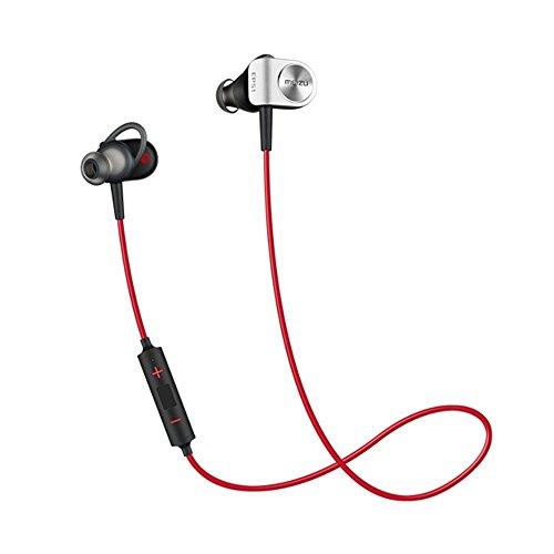 Meizu Bluetooth Sport Wireless Headphones HIFI, Stereo Magnetic Earphones/Earbuds with Built-in Mic