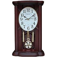 CYHY Reloj de escritorio, reloj de péndulo grande vintage de 12 pulgadas, reloj de