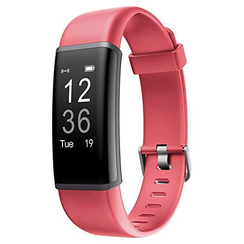 9302sonoaud Braccialetto Intelligente di Sport del Braccialetto di Sonno del Braccialetto di Sonno di Ora più ID130 per Android iOS Rosa