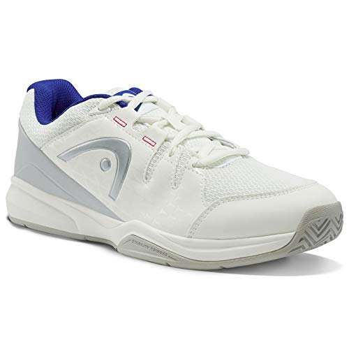 Head Brazer Women, Scarpe da Tennis Donna, Bianco (White/Blue Whbl), 41 EU