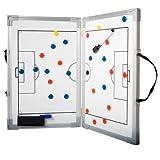 b+d klappbare Magnet Taktiktafel für Fußball (60 x 45 cm)