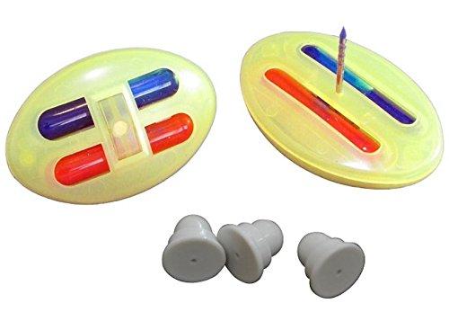 Sicherungsetiketten Farbetiketten TAWA 500 Stück + Verschlüße 500 Stück Warensicherung gegen Ladendiebstahl