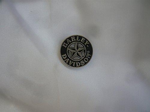 Artículo eird al día siguiente Envío.Pin de Harley Davidson Button Pegatinas Emblema Shield Logo Moto Bike
