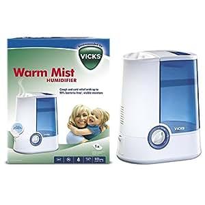 Vicks VH750 Warm Mist Humidifier - Blue/White