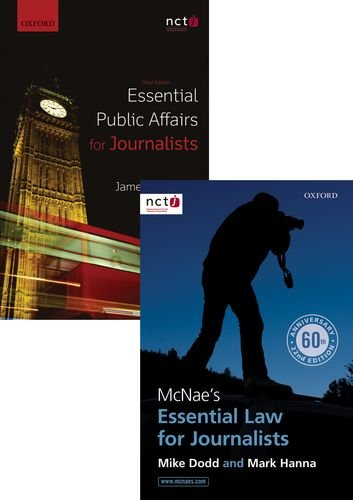 McNae's Essential Law for Journalists & Essential Public Affairs for Journalists Pack