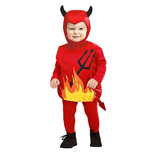 Costume bambini diavoletto taglia 90-104 cm / 1-3 anni