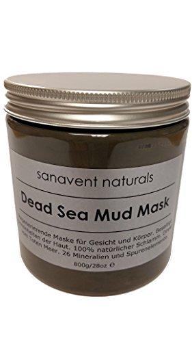 Dead Sea Mud Mask - regenerierende Maske aus 100% Totem Meer Schlamm für Gesicht und Körper