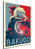 "Poster My Hero Academia ""Propaganda"" Bakugo - Formato A3 (42x30 cm)"