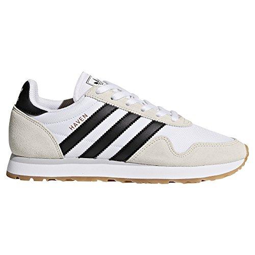 Adidas White Haven. Scarpe da Donna, Scarpe Sportive, Scarpe da Ginnastica. Tessuto Ripstop. Pink/Trace Blue