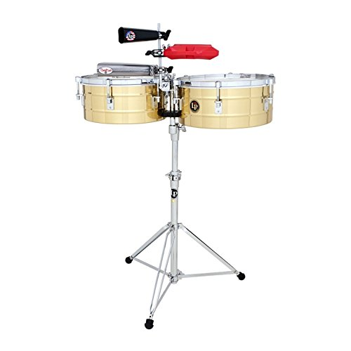 Latin Percussion Tito Puente LP257-B Solid Brass · Timbales