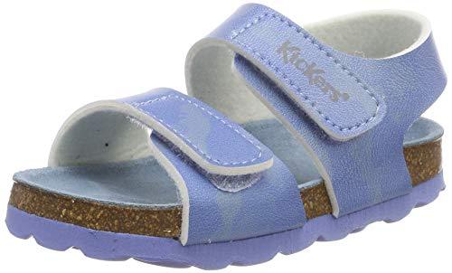 Kickers Unisex Baby Summerkro Sandalen, Blau (Bleu Camouflage 53), 23 EU