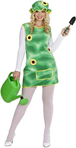 Garde Kostüm Für Grüne Erwachsene - Widmann 94932.-Garten Kostüm, in Größe M