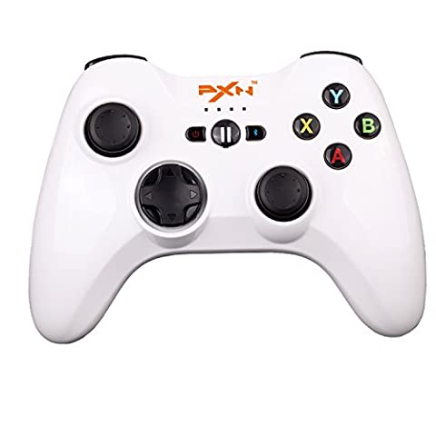 Morjava® PXN-6603 - Speedy Wireless Bluetooth Gamepad Game Controller Gaming Joystick for iOS iPhone / iPad / iPod Touch / Apple TV with iTunes App Store Controller Games Apple MFi Certified