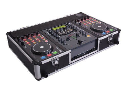 DJ-tech Hybrid 202 2-Kanal DJ-Workstation (DJ-Mixer, 2x Midicontroller) (Dj-tech Mixer)