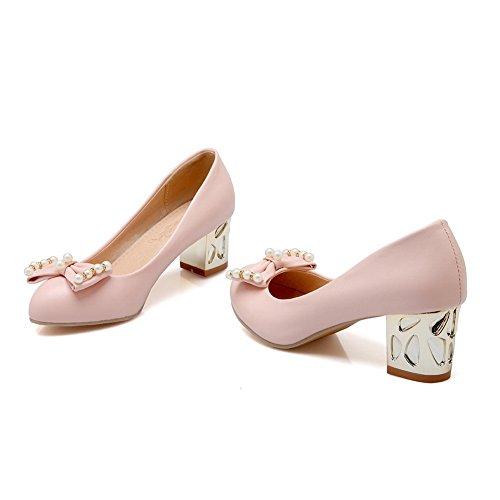 BalaMasaApl10117 - Sandali con Zeppa donna Pink