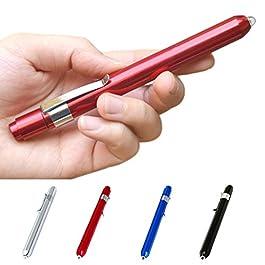 Yanhoo Medico Pronto Soccorso LED Pen Light Torcia Torcia Medico Infermiere EMT Emergenza, Luce palmare Migliori…