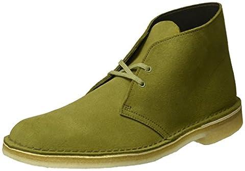 Clarks Originals Herren Desert Boot, Grün (Evergreen Suede), 42 EU
